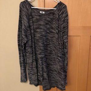 Old Navy Black & White Sweater